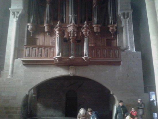 Église Saint-Nazaire : Organo