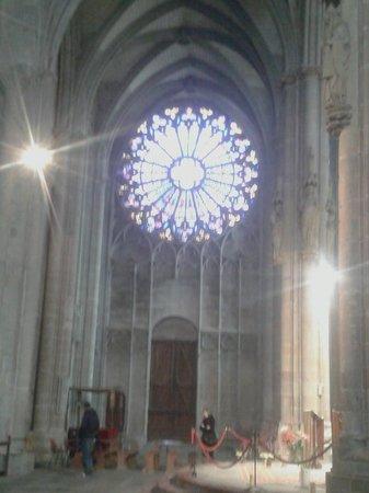 Église Saint-Nazaire : Rosone Est