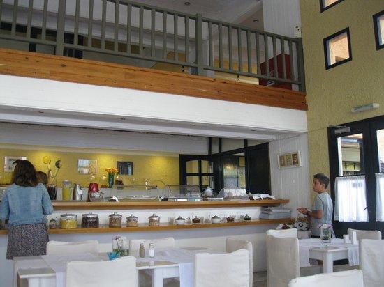 Mare Vista Hotel - Epaminondas: Frühstücksraum