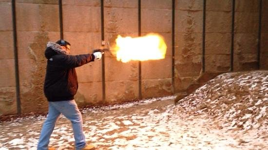 Shooting Events Berlin: desert eagle .50 AE