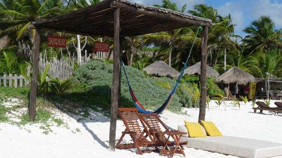 Nueva Vida de Ramiro : the beautiful and quiet beach
