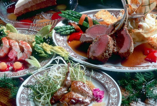 Inconnu Lodge : Gourmet Meals