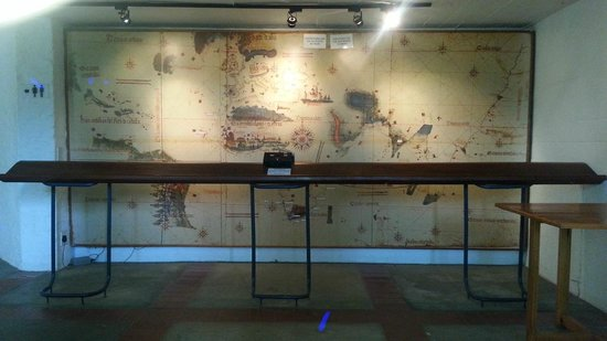 Bartolomeu Dias Museum Complex: Map of Navigation Routes