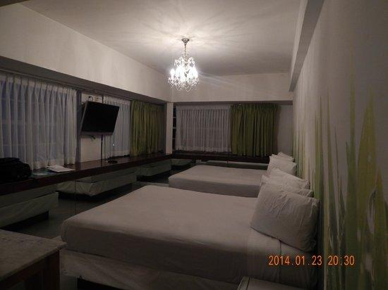 Penguin Hotel: Habitación de la Primer Visita al Hotel Penguin