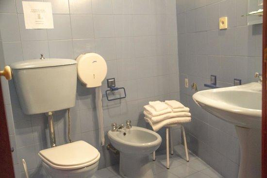 Residencial Casa Das Termas : Baño