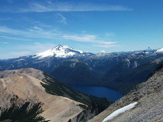 Cerro Lopez: Vista del Tronador desde el pico