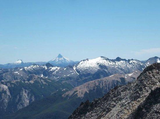 Cerro Lopez: Vista del Pico Turista