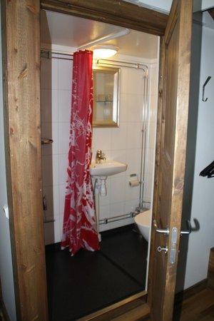 Máttaráhkká - Northern Light Lodge: Bathroom