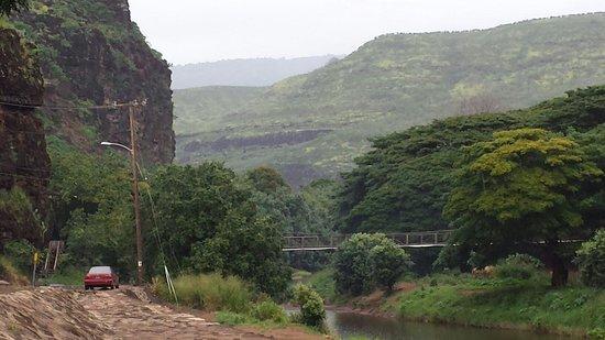 Kiki a Ola (Menehune Ditch): Picture of the bridge