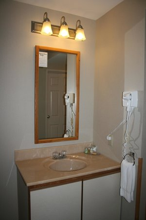Atlantic Eyrie Lodge: Additional sink area