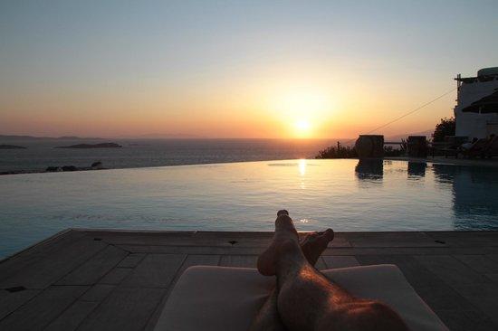 Vencia Hotel : Por do sol