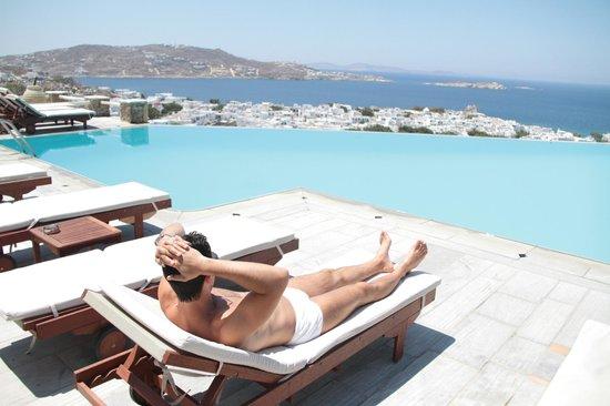 Vencia Hotel : Vista da piscina