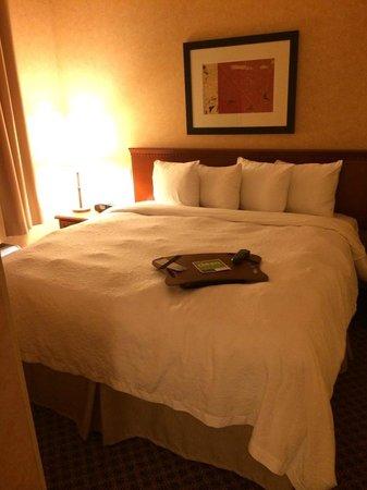 Hampton Inn & Suites Langley Surrey: The bedroom in our 1 bedroom suite