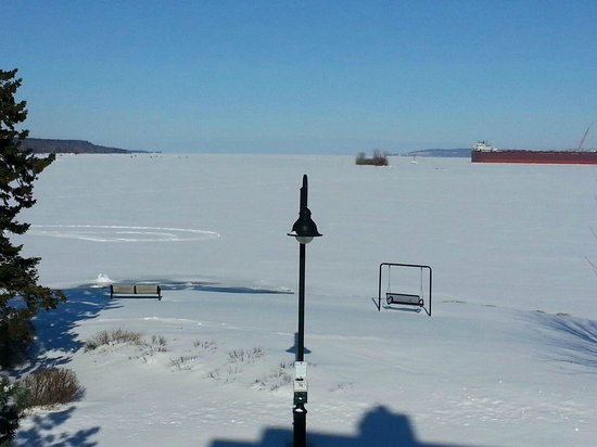 Bridgeport Resort: View from our room