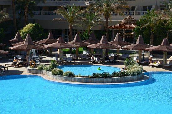 Sindbad Aqua Hotel & Spa : Зона отдыха.