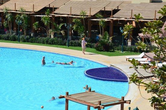 Sindbad Aqua Hotel & Spa : Бассейн.