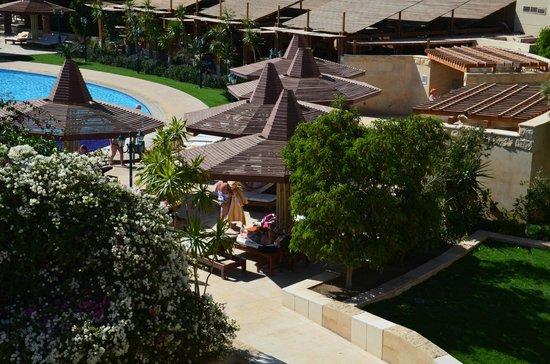 Sindbad Aqua Hotel & Spa : Вид из окна.