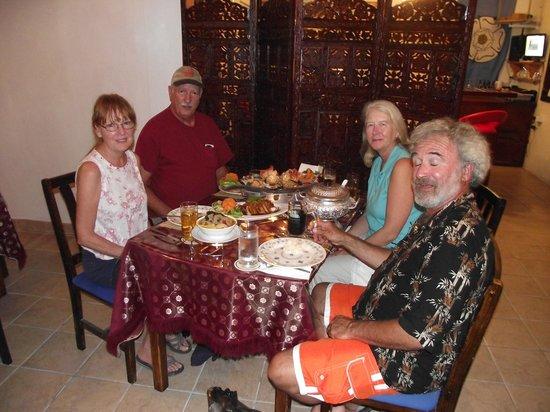 Tastes of Thailand: Happy Customer.