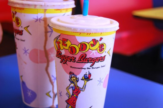 Teddy's Bigger Burgers: Peanut Butter Shake To Die For