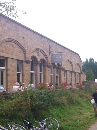 Hassop Station Cafe & Monsal Trail Cycle Hire: A view from the Monsal trail