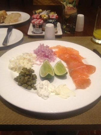 JW Marriott Hotel Bogota: fabulous breakfast