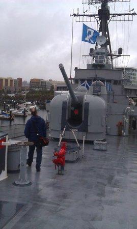 USS Turner Joy Museum Ship: Turner Joy on Deck