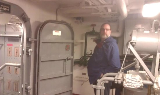 USS Turner Joy Museum Ship: Watch your head in the hatches