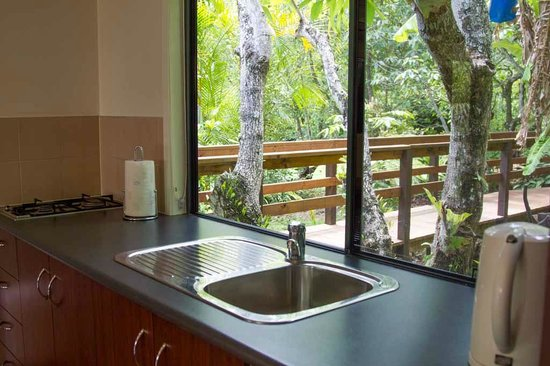 Montville Grove: View from kitchen