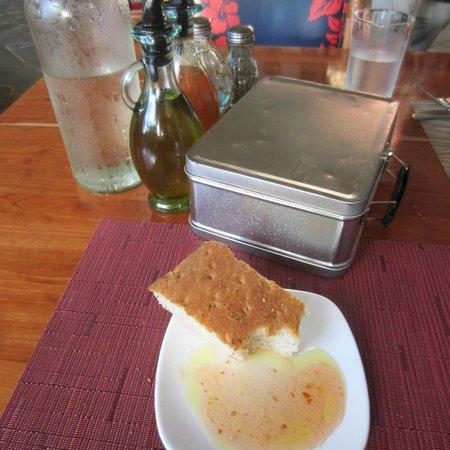 Hula Grill Kaanapali: Focaccia Bread