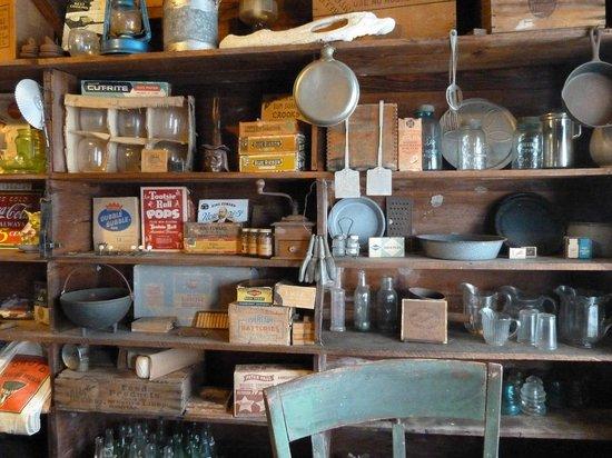Inside the Smallwood Store, 360 Mamie St. Chokoloskee