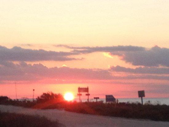 Villas HM Paraiso del Mar: Il tramonto ore 16.30