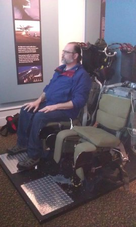 Puget Sound Navy Museum : Ejection seats to watch a video