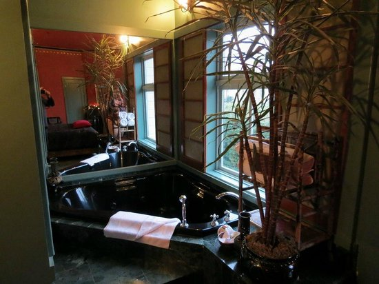 Humboldt House Bed & Breakfast Inn: Bathtub