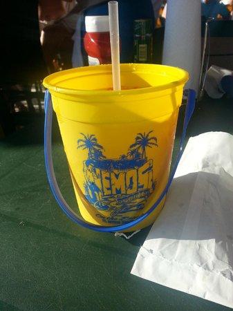 Nemo's on the Beach: Rum Bucket