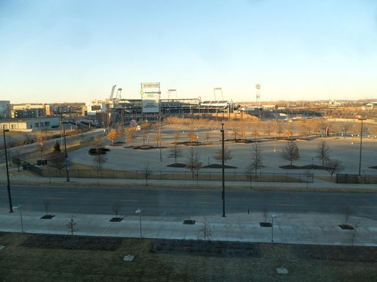 Hilton Omaha : View of the ballpark
