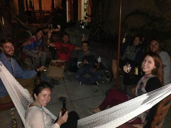 Hostel Tequila Backpacker: one of the common area's