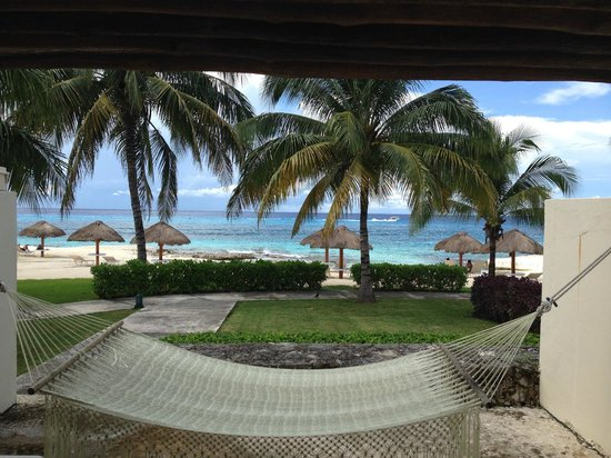 Presidente Inter-Continental Cozumel Resort & Spa: Beach Front Superior Suite´s view