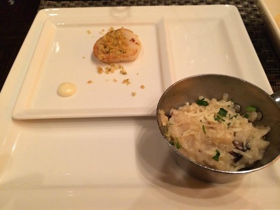 Wicked Spoon: Scallop and Risotto