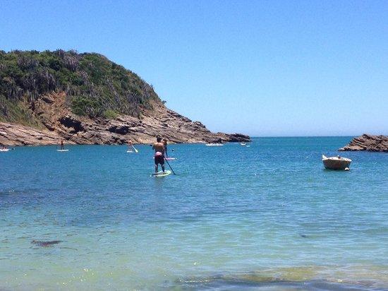 Gringos B&B : Love Ferradurinha Beach.
