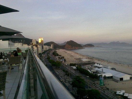 Arena Copacabana Hotel: Otimo visual