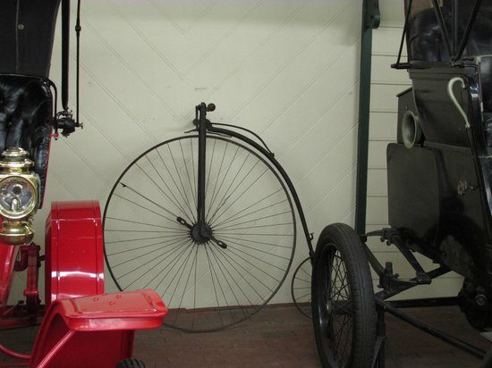 North Carolina Transportation Museum: what a bicycle