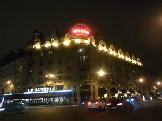 Hôtel Lutetia : Lutetia at night