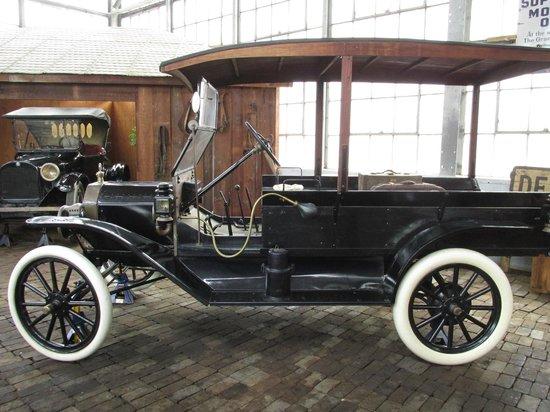 North Carolina Transportation Museum: 1920's series vehicle