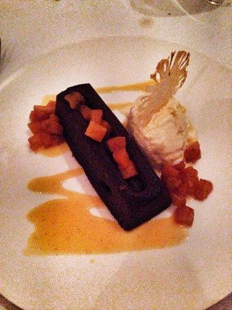 Amansara: Ginger dessert