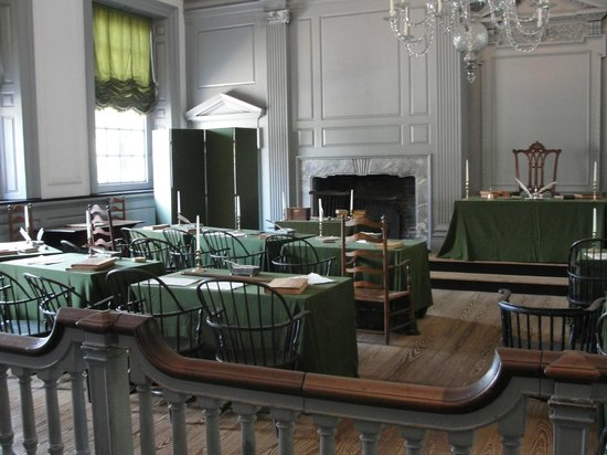 Independence Hall: Some of the many preserved artifacts!