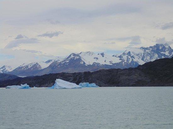 Estancia Cristina: Durante navegação