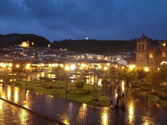 Plaza de Armas Cusco Hotel : vista del comedor