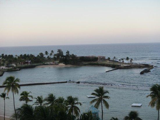 Caribe Hilton San Juan: View from the balcony