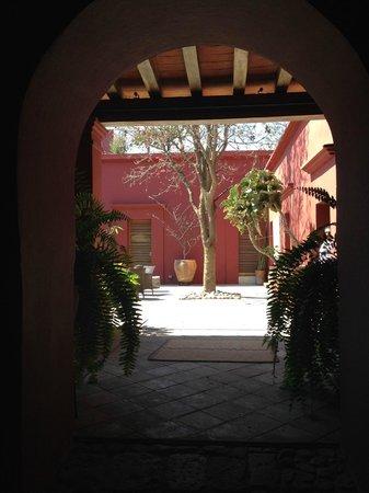 Hotel La Casona De Tita : Acceso