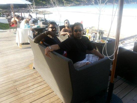 The Taaras Beach & Spa Resort: Restaurant near the beach